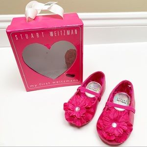 Stuart Weitzman pink toddler shoes - NEW IN BOX!